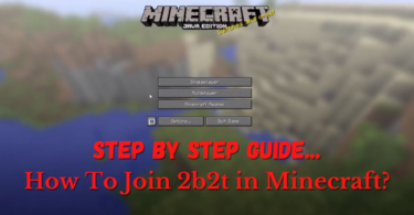 join 2b2t in Minecraft
